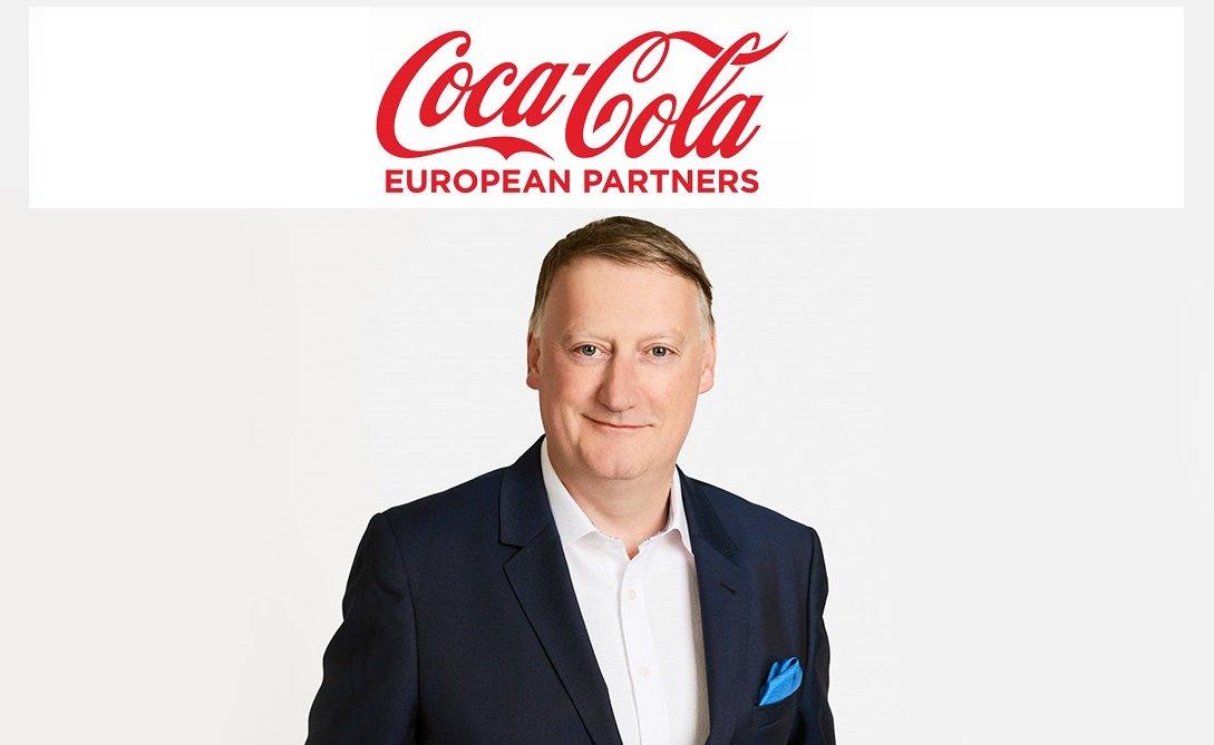 Damian Gammell, CEO de Coca-Cola European Partners y por tanto, número dos de la española Sol Daurella