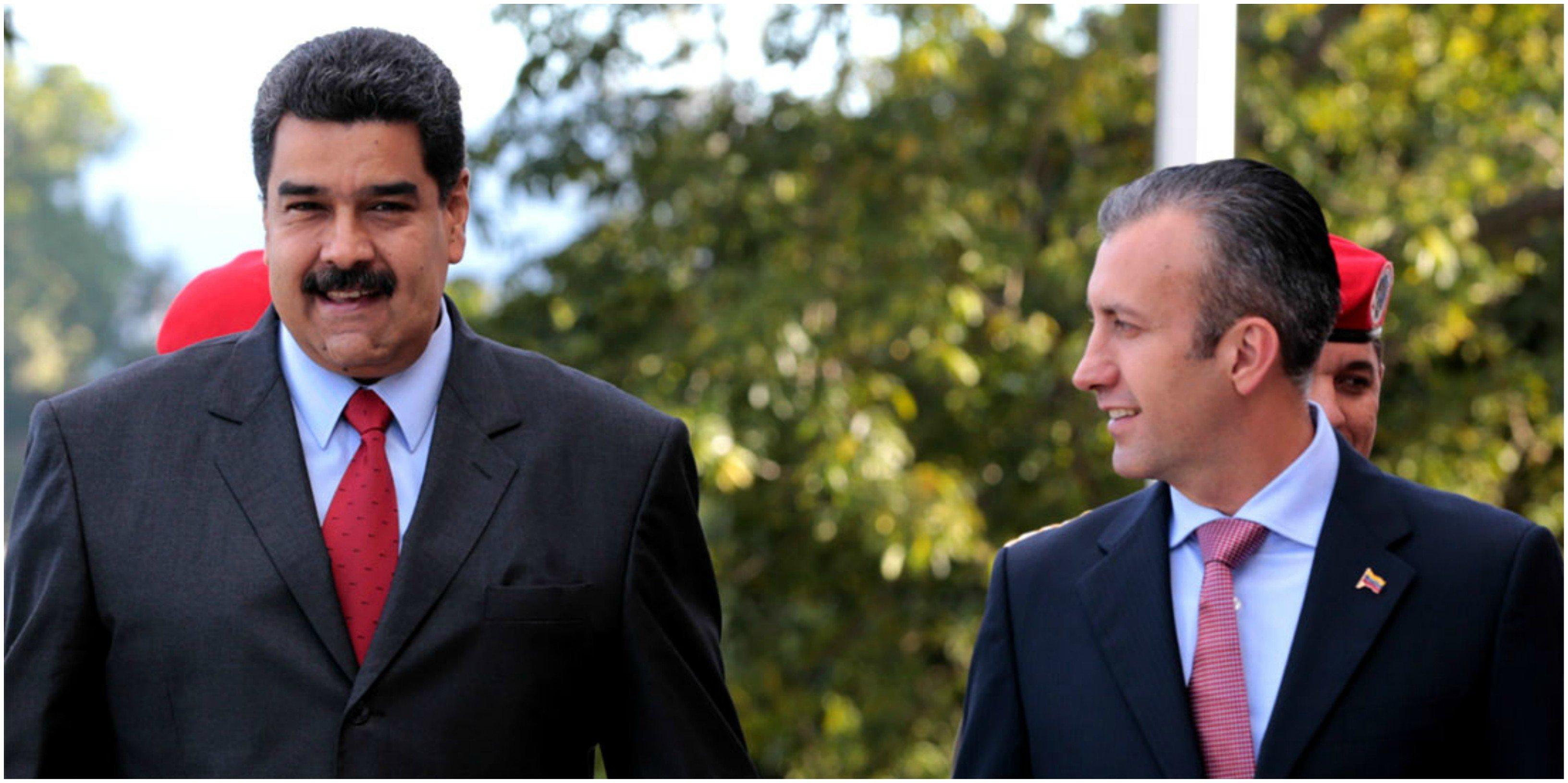 Tarek y Maduro