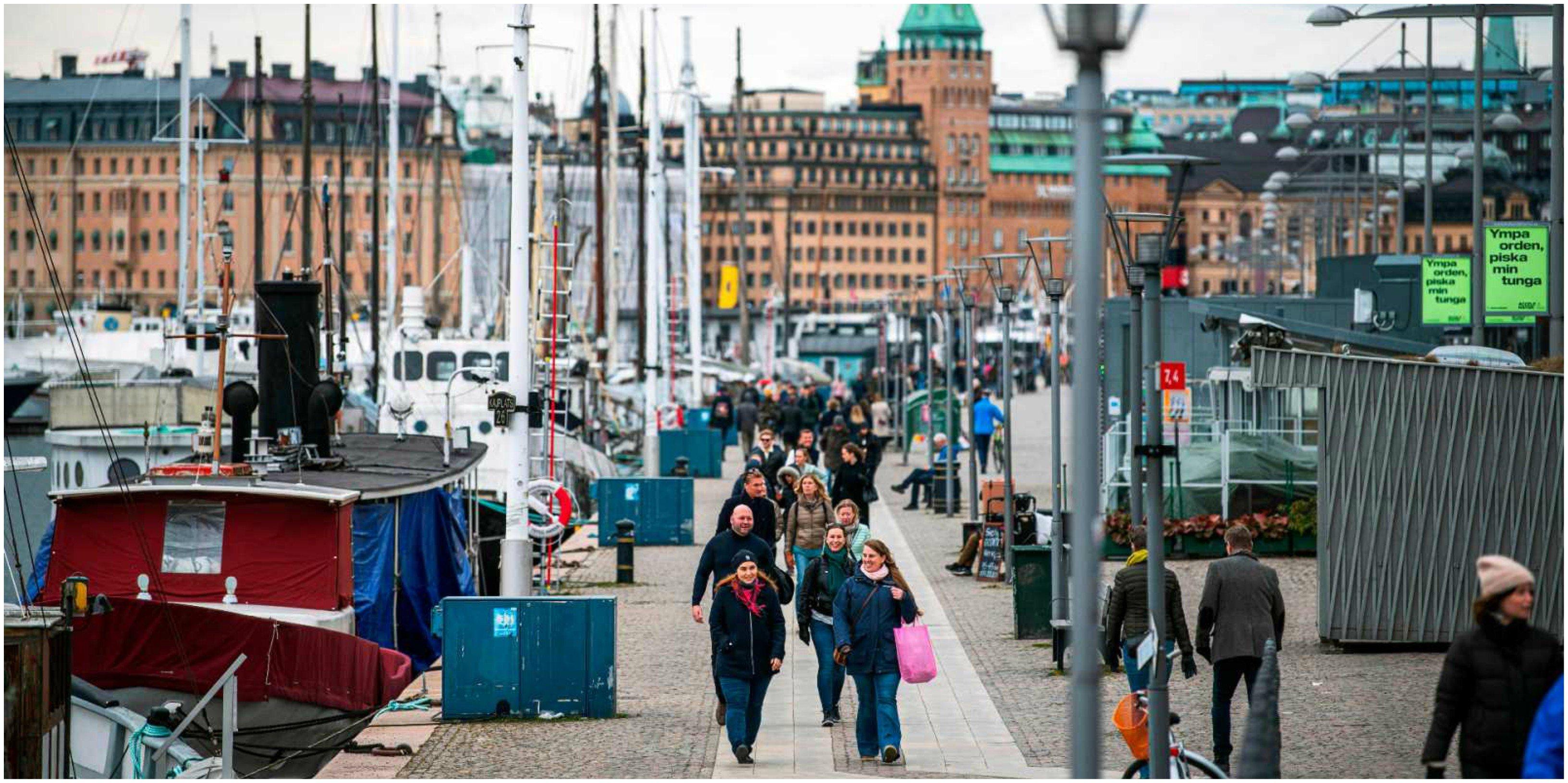 Coronavirus. Suecia no impuso el confinamiento y no le ha ido mal, aunque la cifra relativa de muertos es mayor que la de sus vecinos nórdicos