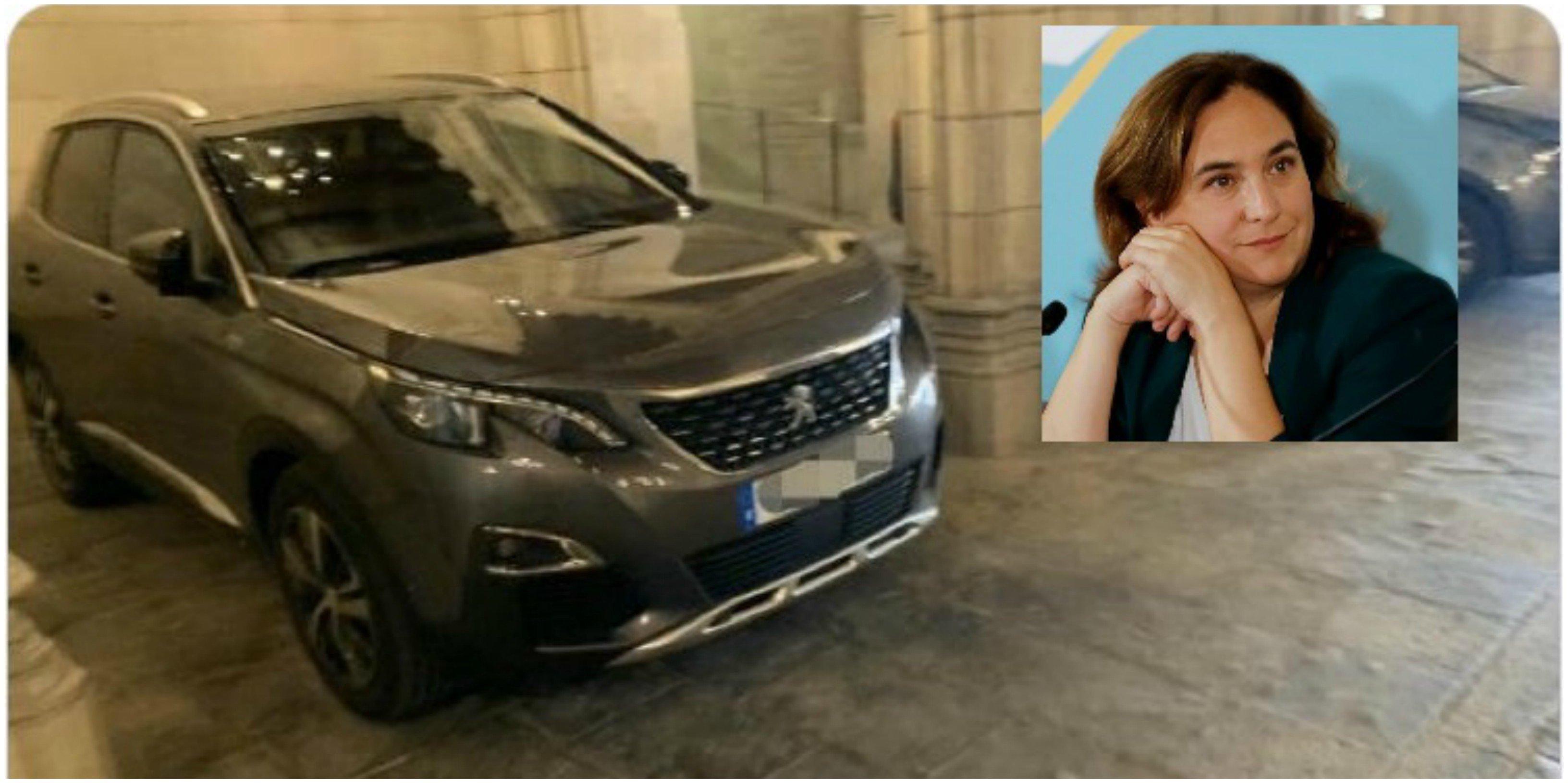 Los fascistas critican a Ada: se ha comprado un coche oficial de 50.000 euros… pero es de 'alquiler'