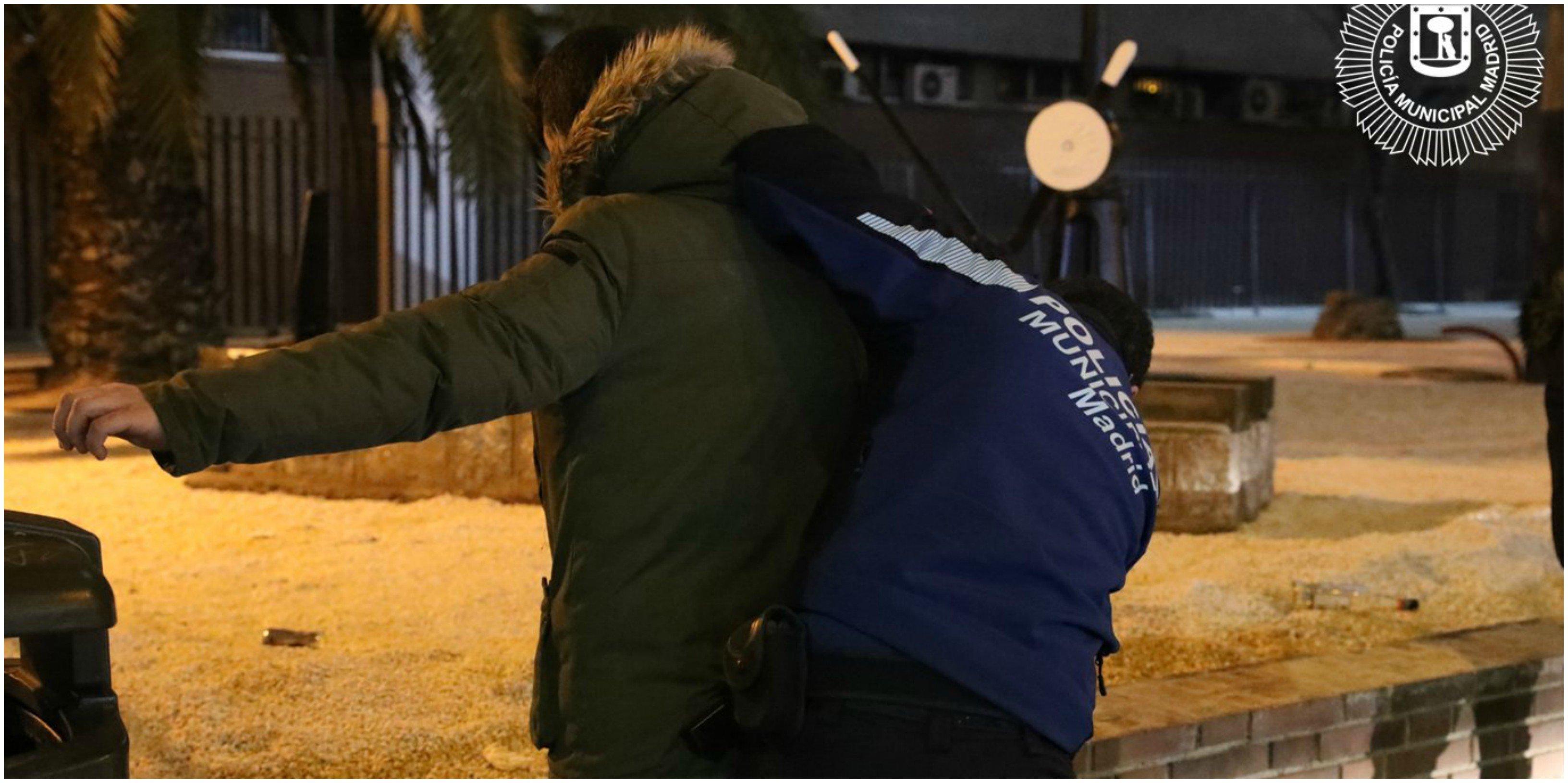 Detención de la Policía Municipal durante el estado de alarma