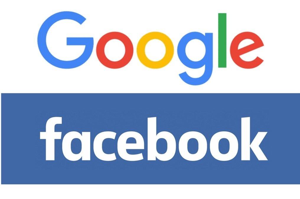 Google y Facebook controlan casi el 60% de la publicidad digital mundial