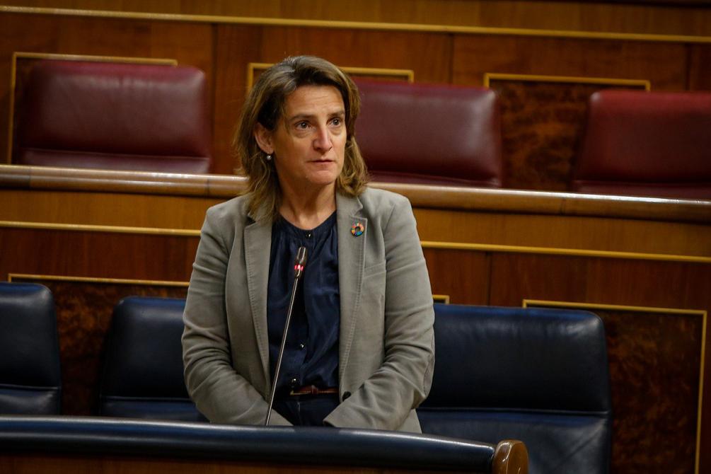 La vicepresidenta cuarta y ministra de Transición Ecológica y Reto Demográfico, Teresa Ribera