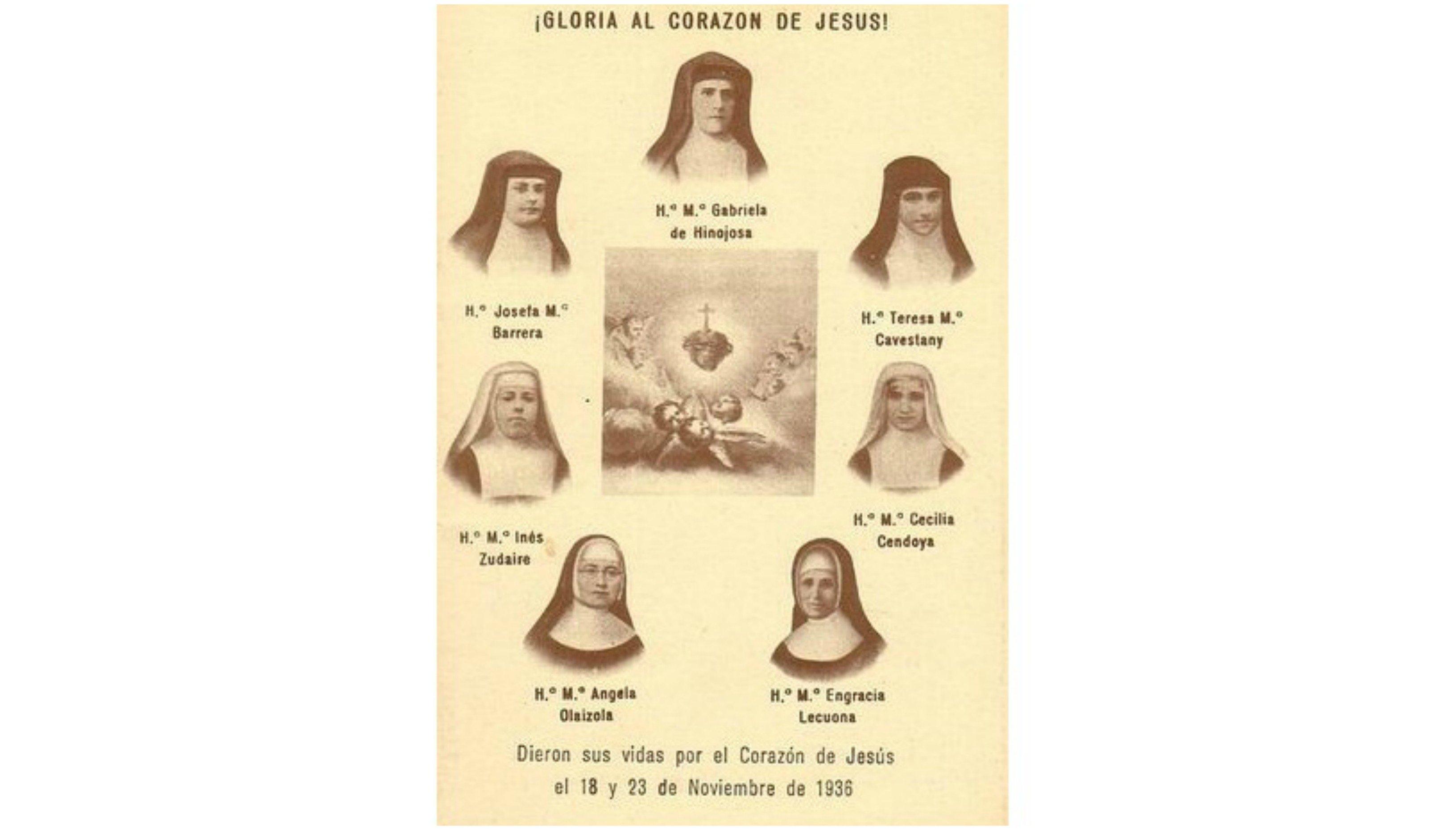 Las siete salesas mártires de Santa Engracia