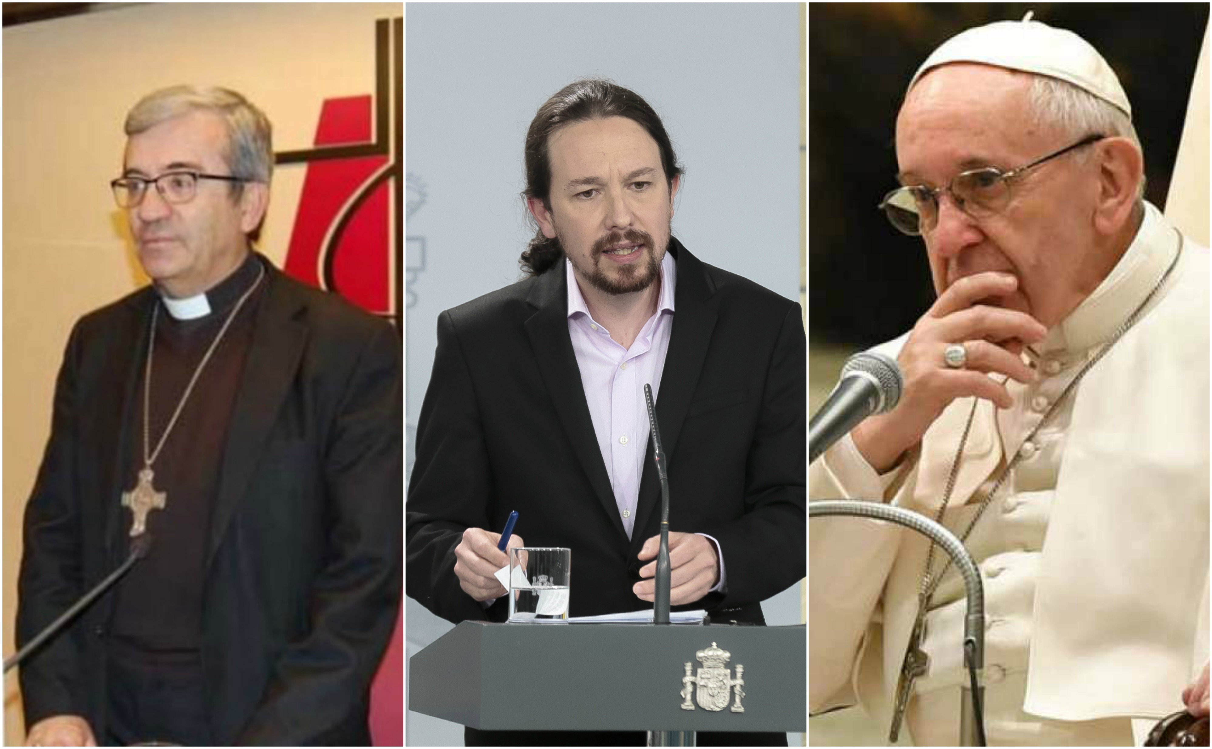 A Argüello no le gusta la renta mínima… y al Papa, tampoco. ¿Te enteras Iglesias?
