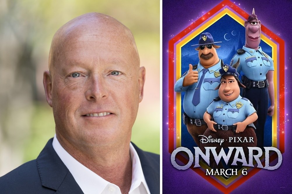 Bob Chapek, CEO de The Walt Disney Company, y la película 'Onward'