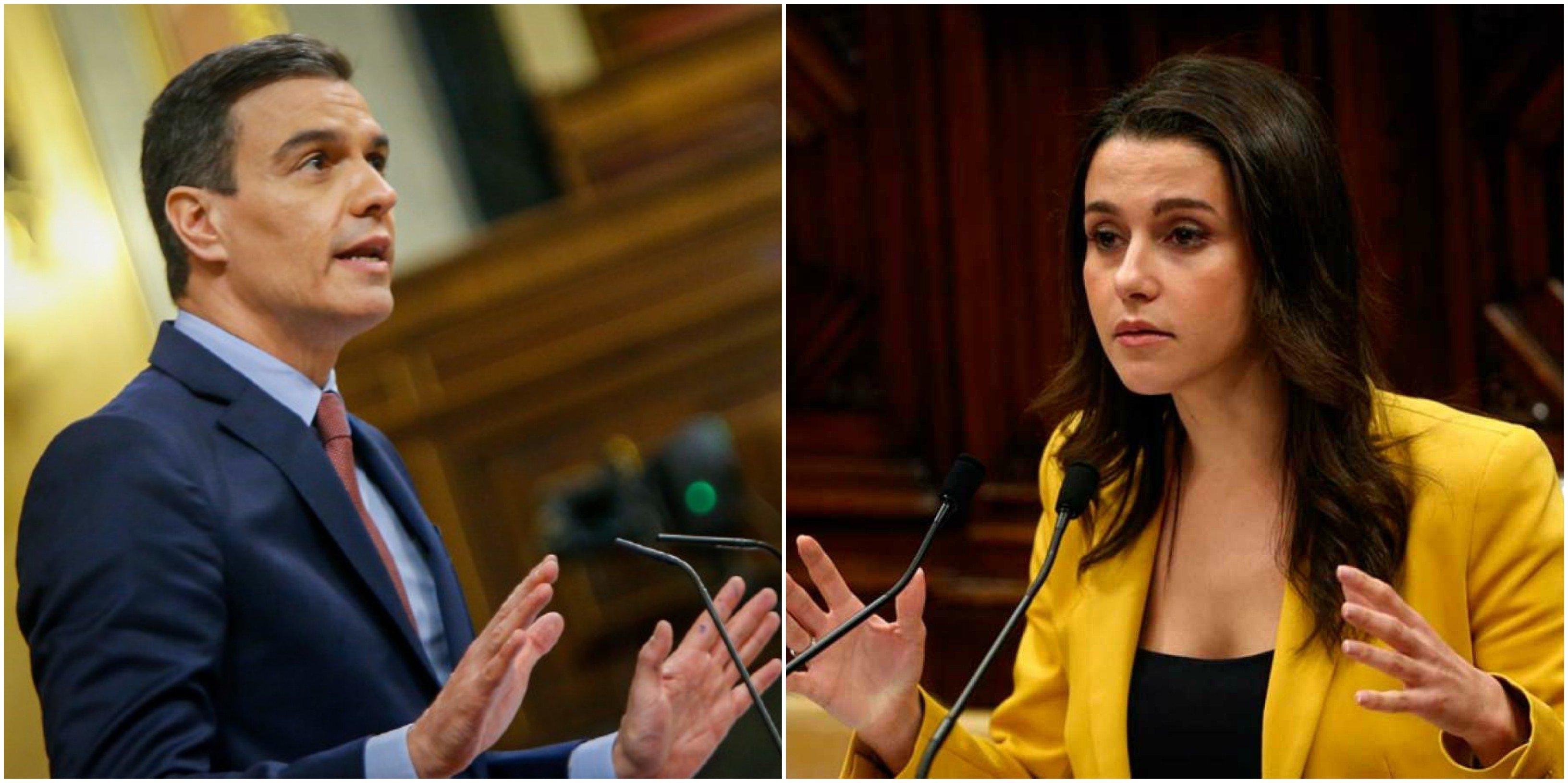 Arrimadas entrega Ciudadanos a Sánchez a cambio de la Comunidad de Madrid… y de su supervivencia