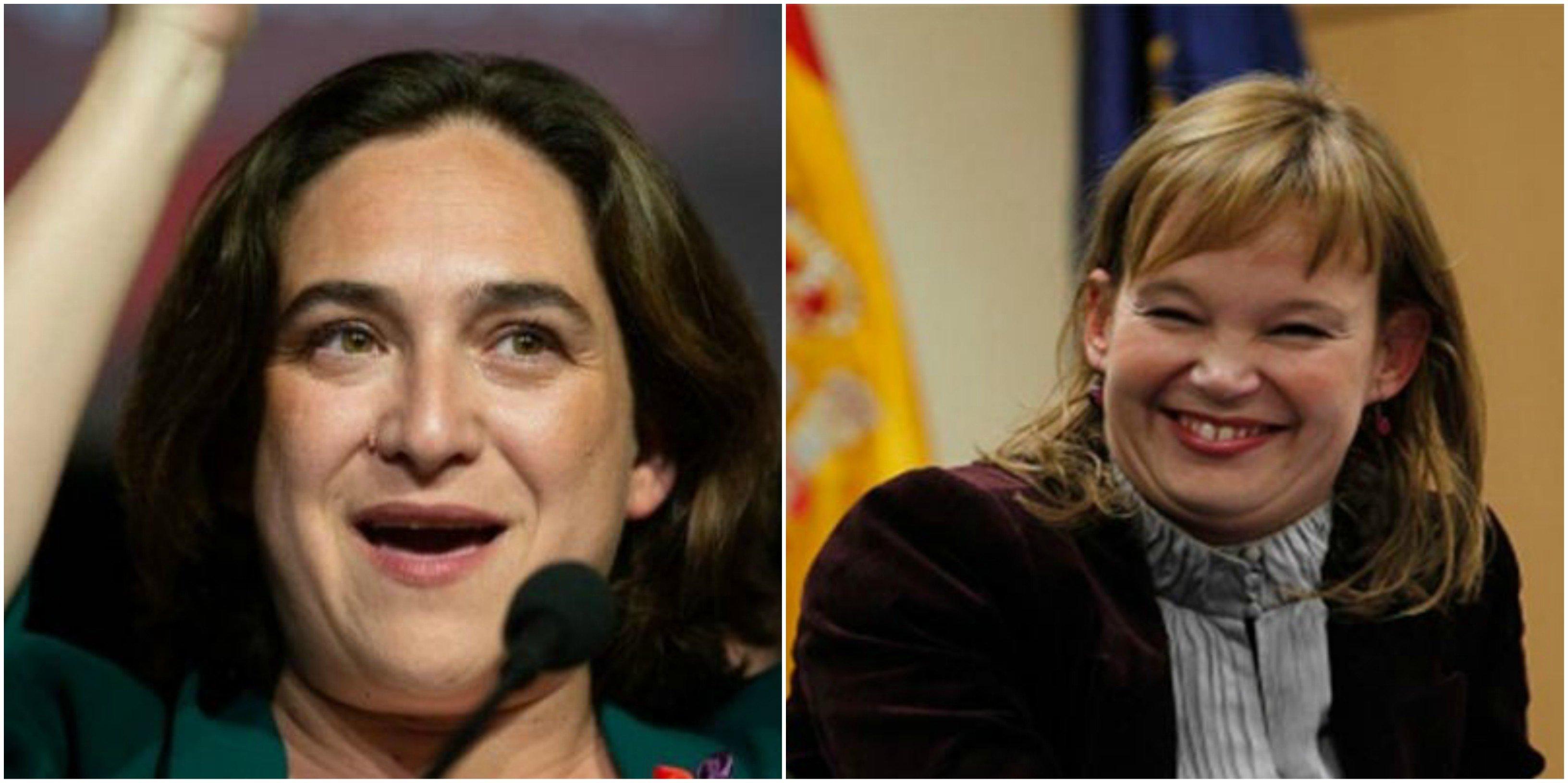 """Colau, tras los pasos de Zapatero: """"ficha"""" a la exministra de Sanidad, Leire Pajín, para su comité de expertos sobre los ODS de Naciones Unidas. ¡Fantástico!"""