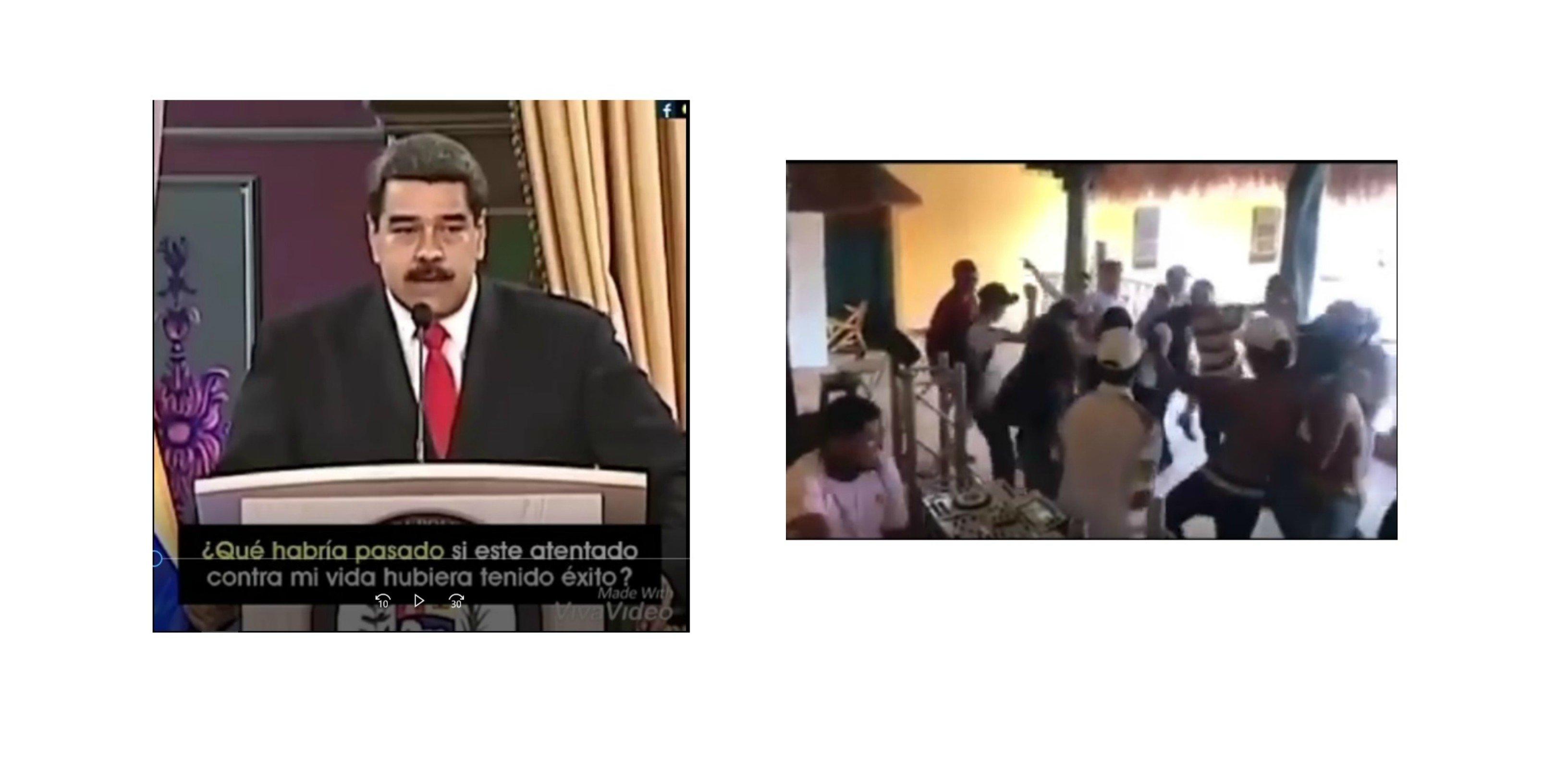 Maduro pregunta qué pasaría si un atentado contra él tuviera éxito... y el pueblo le responde