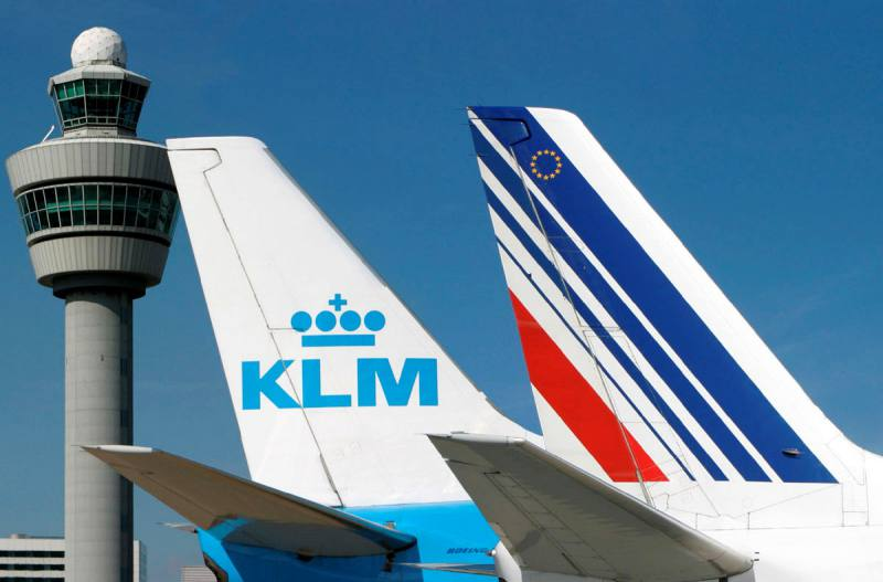 El grupo aéreo Air France-KLM presenta pérdidas millonarias