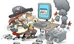 Propiedad intelectual. La Fiscalía quiere sanción penal para cualquier aprovechamiento irregular en Internet