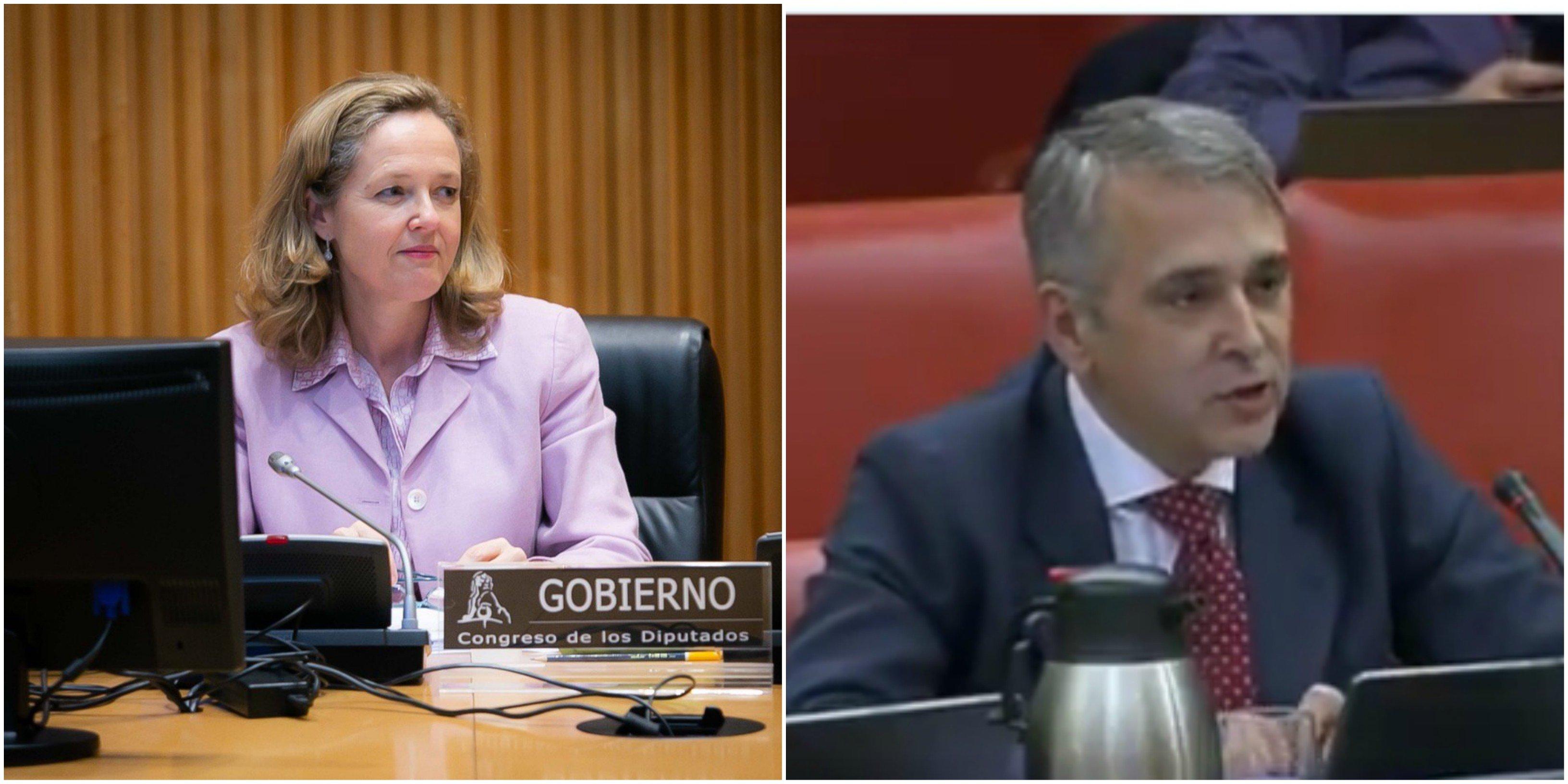 Rubén Manso (Vox) a Nadia Calviño: se trata de salvar empleos, no de crear subsidios