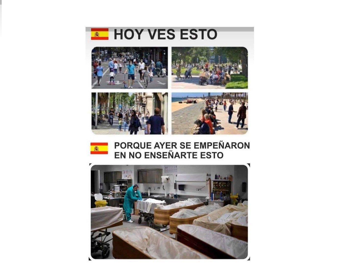 Cuando finalice la desescalada, y los ciudadanos estén en las calles, declarare el luto oficial… (Sánchez, en el Congreso)