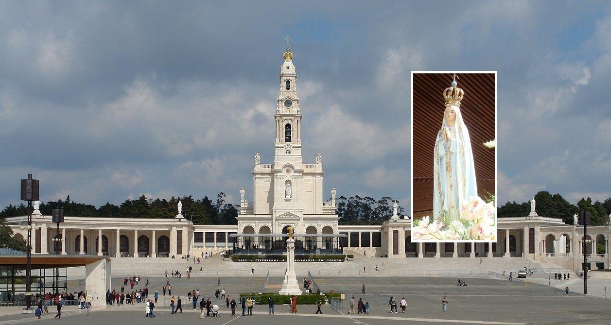 El Santuario de Nuestra Señora del Rosario de Fátima, en Portugal