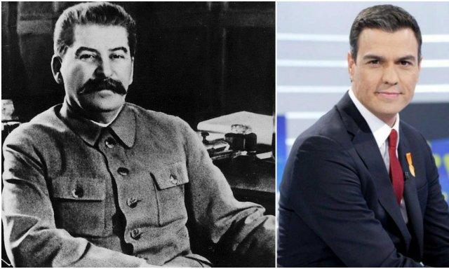El padrecito Stalin, el padrecito Sánchez