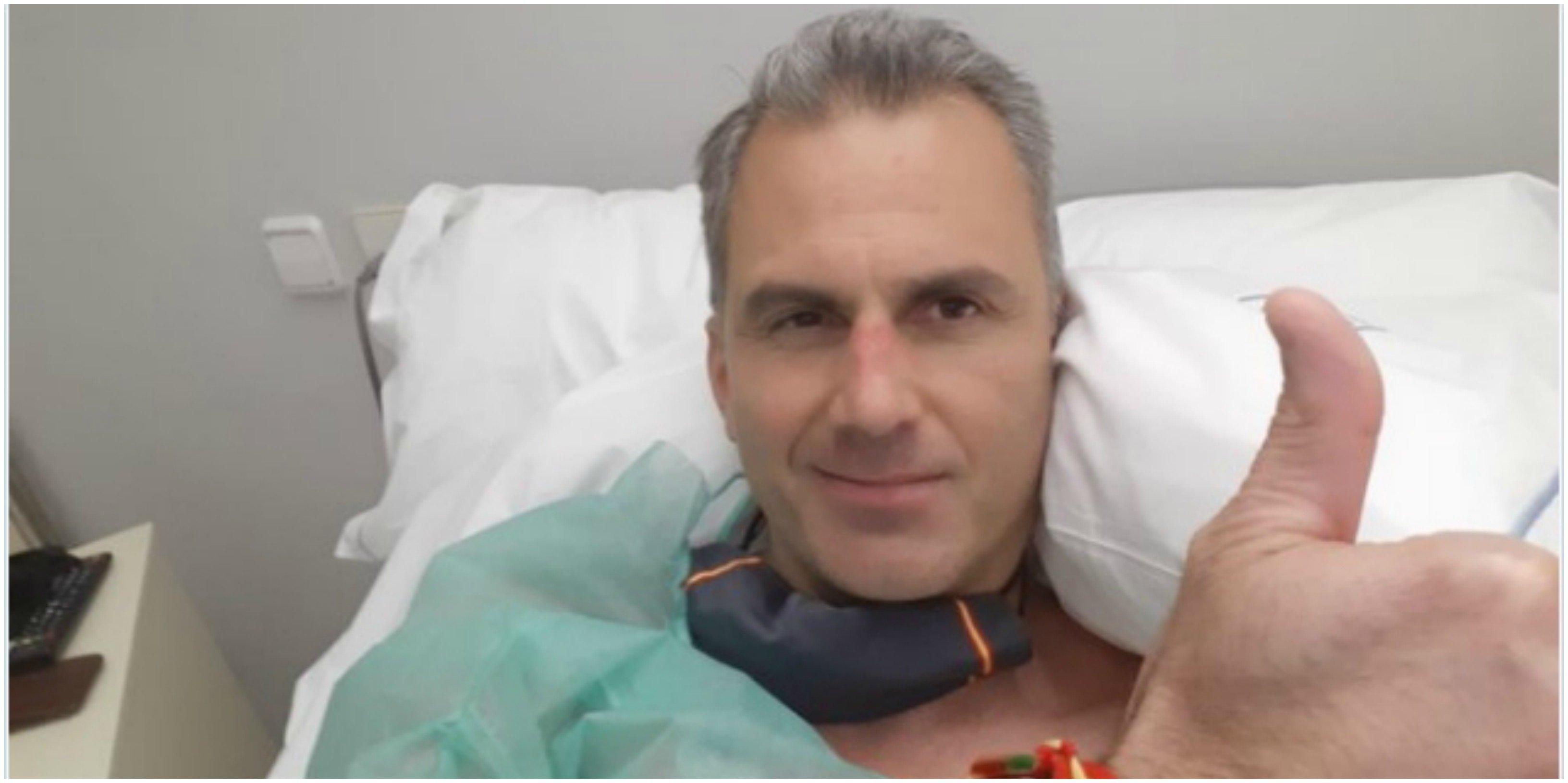 Ortega Smith recae por coronavirus: ingresado por trombos en la pierna y en los pulmones a causa del Covid-19