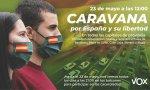'Caravana por España y su libertad' convocada por Vox