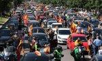 Publica eldiario.es que la calidad del aire empeoró este sábado en el centro de Madrid coincidiendo con la manifestación motorizada de Vox