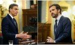 """Pablo Casado, a Sánchez: """"El problema es usted, que está arruinando a los españoles por un puñado de votos"""""""