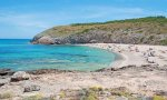 Cala Torta, en el municipio de Artá, en la isla de Mallorca