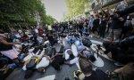 Protestas embajada EEUU