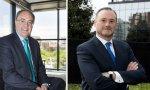 Tobías Martínez y José Aljaro, los CEO de Cellnex y de Abertis respectivamente, que son quienes gestionan el día a día