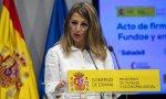 Yolanda Díaz, ministra de Trabajo y Economía Social, por tanto, quien tiene responsabilidad sobre los ERTE