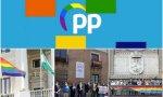 Bandera LGTBI en redes sociales PP,  bandera en el Ayuntamiento de Cádiz, Diputación de Valladolid y Ayuntamiento de Zaragoza
