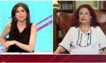 """""""Han puesto un Ministerio de Igualdad para dar un cargo a Irene Montero, que ni ha estudiado, ni sabe""""...dice la presidenta del Partido Feminista, Lidia Falcón, en el programa Todo es mentira"""