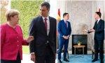 Merkel no es la buena y el país-bajero Rutte, el malo. Sólo que, ahora mismo, a Merkel le toca el papel de árbitro