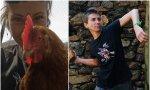'Almas veganas' las activistas pro derechos de los animales, necesitan fondos para que los gallos no violen a las gallinas