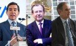 Carlos Torres no debió contratar a Garrigues, presidido por Fernando Vives (en el centro), ni a Uría y Menéndez, que preside Luis de Carlos