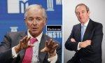 Stephen A. Schwarzman, CEO de Blackstone, y Claudio Boada, su hombre en España