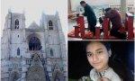Incendio en la catedral de Nantes, católicos chinos y la joven paquistaní obligada a casarse con un musulmán