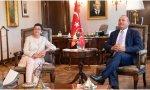 La ministra de Asuntos Exteriores, Arancha González Laya, especialista en pifias diplomáticas, la última, en Turquía