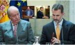 El rey Juan Carlos I marcha al exilio: España en peligro de una nueva Guerra Civil