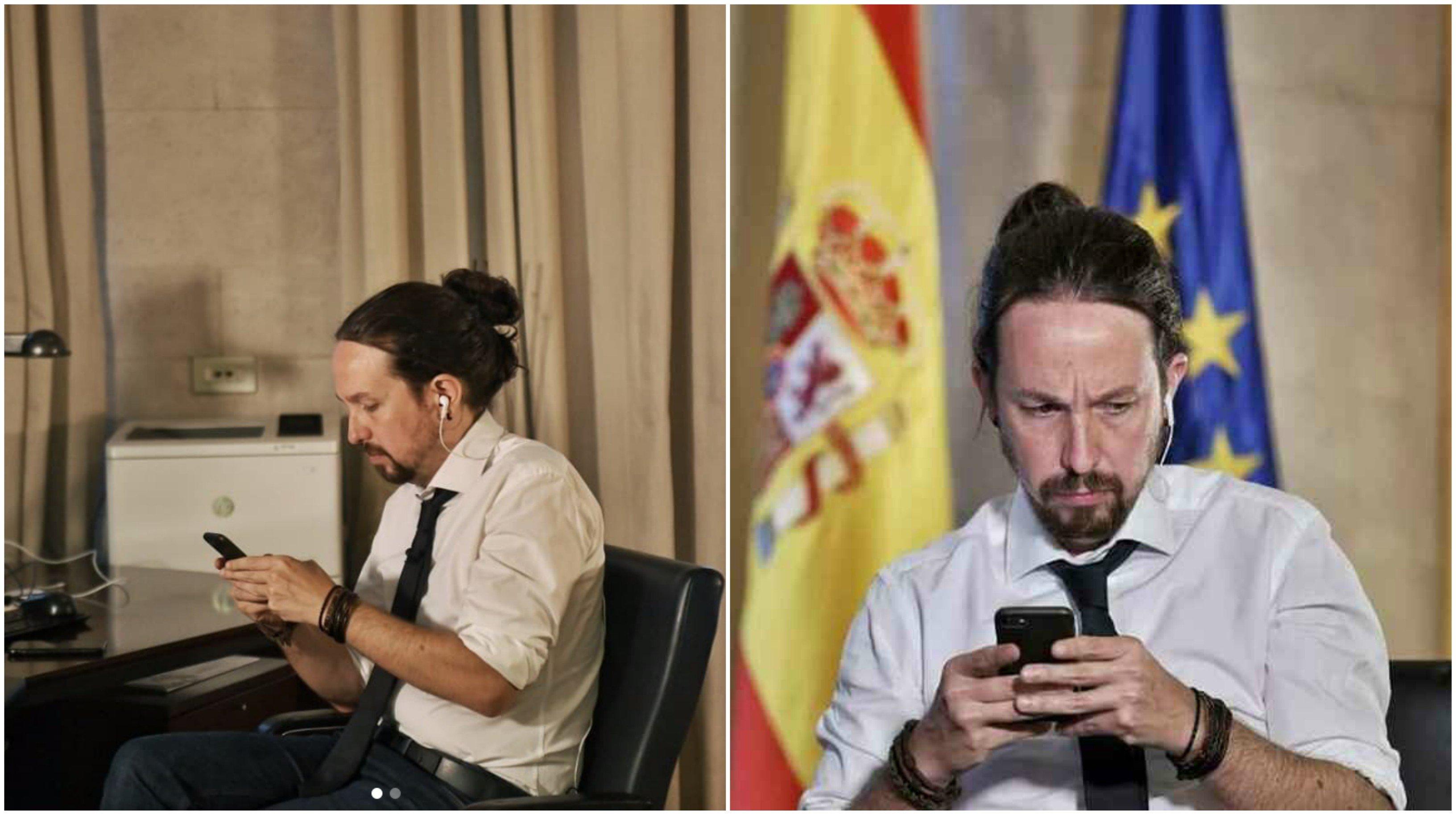 Todo por mis niños. Pablo Iglesias cambia de look y se re...