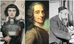 Santa Juana de Arco, Voltaire y Anatole France