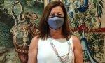 La socialista Francina Armengol prefiere ahorrar dinero ante la que está cayendo