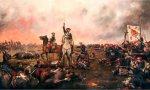 """Uno de los cuadros de Augusto Ferrer-Dalmau Nieto, """"pintor de batallas"""" y maestro de la recreación histórica"""