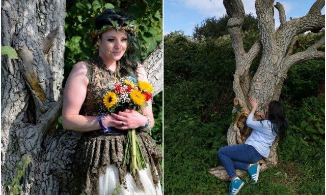 Mundo de chiflados. Malas noticias: la mujer que se casó con un árbol no ha tenido descendencia