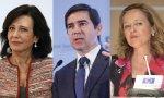 Ana Botín, Carlos Torres y Nadia Calviño, protagonistas del triángulo Santander-BBVA-Gobierno
