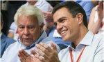 Contra Iglesias no, contra Sánchez. Felipe González: cambiar la Monarquía por esa «republiqueta» que «pregona» Pablo Iglesias destruirá España