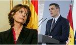 Pedro Sánchez y Dolores Delgado, dos españoles muy progresistas