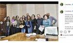 Irene Montero y sus asesoras/es