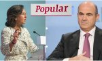 Guindos pone en un brete a Ana Botín: el Santander negoció la compra del Popular antes de la intervención
