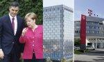 Pedro Sánchez está dispuesto a entregar Telefónica a Deutsche Telekom a cambio del apoyo de Angela Merkel en Europa