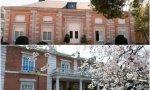 El palacio de la Zarzuela y la Moncloa