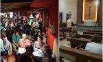 Los bares pueden estar al 50 por ciento de su capacidad, pero las iglesias sólo a un tercio. Curas: triplicad las misas