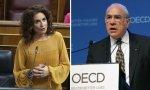 Marisú, la precipitada, frente a Ángel Gurría (OCDE), que pisa el freno en fiscalidad digital